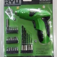 RYU POLOS Cordless Screw Driver 4.8 v Black Decker Screwdriver