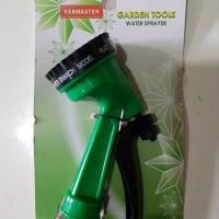 KENMASTER KECIL 5 POSISI semprotan air taman kebun hose nozzle selang
