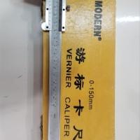 MODERN KAYU Sigmat Jangka Sorong Skekmat Vernier Caliper 6 inch 15 cm