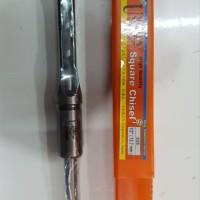 UNIKEN Mata Bor Bobok Kayu 0.5 inch Mortising Square Chisel Set