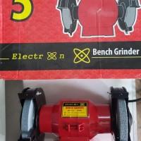 ELECTRON Mesin Gerinda Duduk 5 inch Bench Grinder dbwh nankai ryu