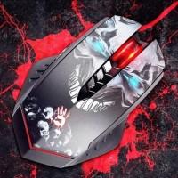 Keren Bloody Gaming Mouse R80 Infrared Switch - 7 Prfl Macro Wireless
