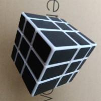 Rubik Mirror 3x3 Shengshou Magic Cube Black 3x3x3 white Base