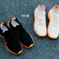 Sepatu Wanita / Pria Sneakers Slip On D1-9