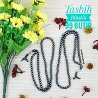 Tasbih Batu Blustin Asli Original 99/Grosir Tasbih Murah/Oleh Oleh Haj