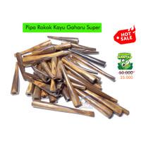 Promo! Pipa Rokok Kayu Gaharu Super Aquilaria Pipe Cigarette Cangklong