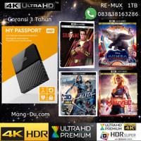 ULTRA 4K HDD Harddisk Jasa isi 1TB