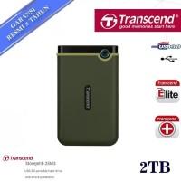 Transcend StoreJet 2TB Army Green 25M3 USB 3.1 HDD / Hardisk External