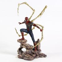 PVC Iron Spider man Action Figure Spiderman Statue Big size Marvel