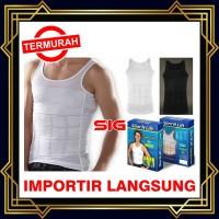 Slim N Lift Body Shaping for Men Tank top Tanktop Pria Slimming Shirt