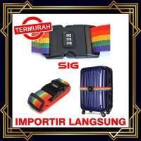 Luggage Strap / Tali Pengikat Koper Dengan Kunci Kombinasi / kode pin