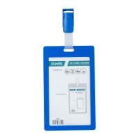 Bantex ID Card Holder With Clip 54x90mm Portarit Cobalt Blue #8866 11