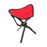 Kursi Lipat Segitiga - Kursi Lipat Mini Portable - Foldable Chair