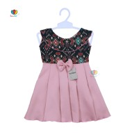 Dress Batik uk Bayi 0-12 Bulan / Baju Pesta Dres Anak Perempuan Formal