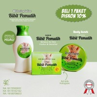 PAKET BIBIT PEMUTIH - LOTION, SABUN, BODY SCRUB BY SYB ORIGINAL