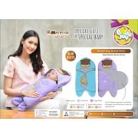 Selimut Bayi Baby Blanket Topi Bonnie Baby Joy BJB 5015