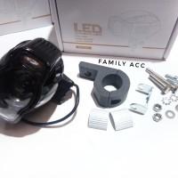 Lampu Tembak Sorot Cree E03B plus USB Charger Hp LED For Motor Univers