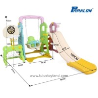 Perosotan Parklon Fun Slide n Swing 5 in 1 Multi Combination 5in1