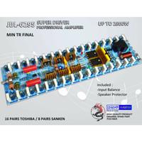 KIT DRIVER JBL 6295 JBL6295 JBL-6295 SUPER POWER AMPLIFIER -TR FINAL