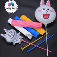 Stick Balon Besar / Stick and Cup / Stik Balon / Pegangan Balon