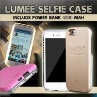 LUMEE - Iphone 6 Plus / 6s Plus Casing SELFIE CASE dan Power Bank
