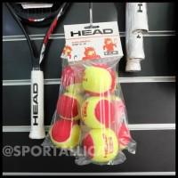 Bola Tenis / Tennis Anak Head TIP Red / Merah isi 3 (5-8 Tahun)