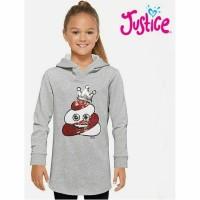 Sweatshirt Justice Hoodie anak cewek Queen