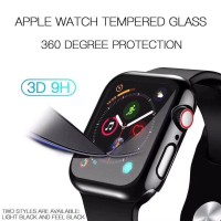 CASE APPLE WATCH SMARTWATCH 38MM 40MM 42MM 44MM TEMPERED GLASS CASING
