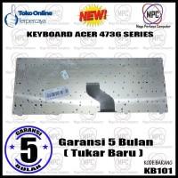 Keyboard Laptop ACER Aspire 4736 4738 4740 4741 4750 4240 Series Hitam