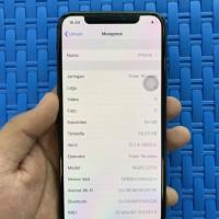iPhone X 64GB Gray Like New Garansi Sampai Maret 2020