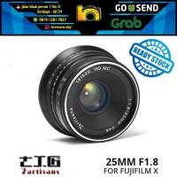 Lensa 7ARTISANS 25MM F1.8 FOR FUJIFILM X Mount Series