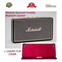 Marshall Stockwell Portable Bluetooth Speaker Luxury Flip Cover