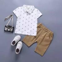 Baju pesta setelan anak laki import motif lucu best seller