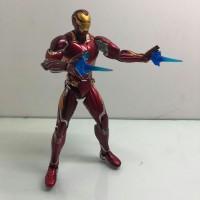 Mainan SHF Iron Man MK 50+ stand Avengers Infinity Wars