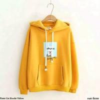 sweater hoodie wanita flecee fiit L allsize-jaket sweater keren terla