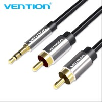 Vention Kabel Audio 3.5mm to RCA 2m Gold limited stock