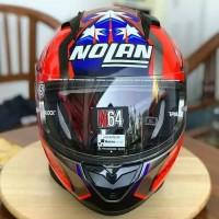 Helm Nolan N64 Stoner Suzuka Scratchet Chrome