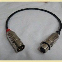KABEL MIC CANARE XLR FEMALE CANON 3PIN TO MALE CANON 3PIN JUMPER