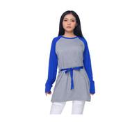 Kaos raglan wanita | tunik wanita muslim | fashion wanita muslim