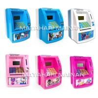 ATM Mini Happy Bank Lilo Stitch Mainan Edukatif Edukasi Anak Celengan