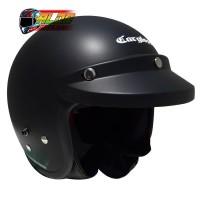 helm cargloss retro black doff + pet