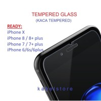Tempered Glass iPhone 7 7s 7+ 6 6+ 6s SE plus Screen Guard Anti Gores