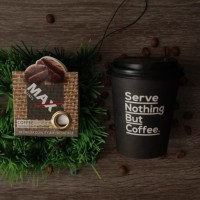 New pewangi kopi wangi kopi hitam campur susu parfum mobil kopi