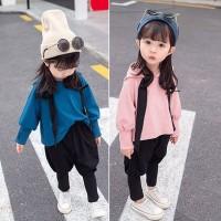 PROMO Setelan Sweater Kaos Hangat Bayi / Anak Perempuan   Celana