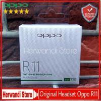 Headset Earphone Handsfree Oppo R7 R7s R7 Plus Original 100%