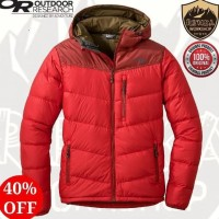 Sport OUTDOOR RESEARCH TRANCENDENT DOWN HOODY JACKET - TOMATO KTN