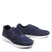 Walkers Sanji Navy Sepatu Pria Casual Sneakers Kets Sport Santai Murah