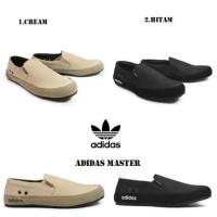 Adidas Master Slip on Sepatu Pria Casual Slop Santai Murah