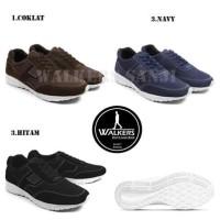 Sepatu Pria Casual Sneakers Kets Sport Walkers Sanji Murah