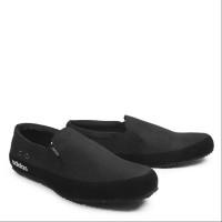 sepatu pria casual slop adidas master hitam sepatu slip on murah